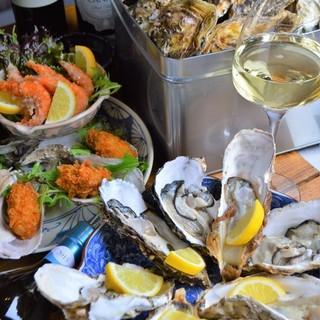 今が旬の牡蠣を思う存分食べつくしましょう!