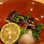 タキギヤ - 秋刀魚の肝焼き