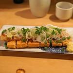 タキギヤ - 炙り油揚げ