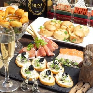 季節毎に変わるパーティーコースも人気です!