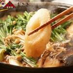 秋田料理 まさき - きりたんぽ鍋
