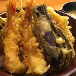そうかわ - 天丼定食1,000円
