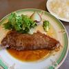 ふらのワインハウス - 料理写真:Bセット(2646円)サーロインステーキ