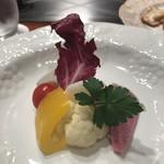 ステーキ オクソン - 温野菜