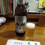 大関 - 瓶ビール(大瓶) 800円 (2018.9)