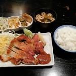 波平食堂 - トンテキ定食です。(2018年10月)