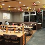 東海パーキングエリア(下り線) レストラン・スナックコーナー - キレイになりました