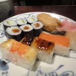 箱寿司 - アップ!