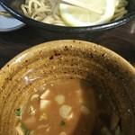 94466349 - 辛つけ麺・レモン