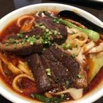 蓬溪閣 - 角煮刀削麺