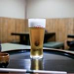 うなぎ秋本 - ■生ビール 780円
