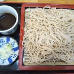 日本蕎麦 麺酒家 縁 - もり蕎麦 550円(税込)(2018年10月10日撮影)