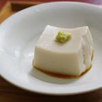 仲佐 - 【蕎麦三昧】の胡麻豆腐