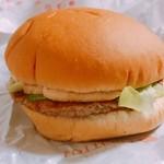 ロッテリア - ロッテリアハンバーガー 180円