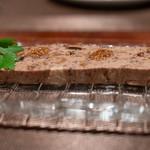 浅草 幻のローストポーク グロワ グロワ - 2018.11 イチジククリームチーズのテリーヌ(780円)