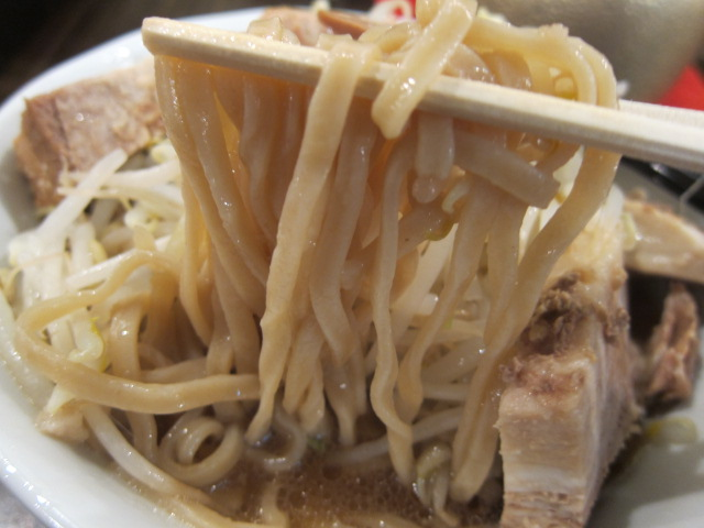 ガッツリ麺ふじもり 三島店
