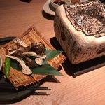 磯一 - 焼き松茸