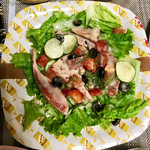 レシピ& マーケット - レアサーモンの南仏風サラダ