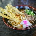 資さんうどん - 料理写真:肉&ゴボ天 うどん [¥700]