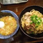 自家製麺つけ麺 紅葉 - 和え麺「ぶっかけ肉そば麺」/並盛¥780