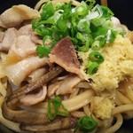 自家製麺つけ麺 紅葉 - 和え麺「ぶっかけ肉そば麺」