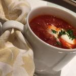 ボナ・フェスタ - ランチスープ:トマト風味のボルシチスープ