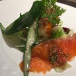 ボナ・フェスタ - ランチサラダ:海の幸と野菜