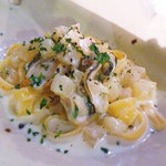 ミチスガラ - 牡蠣と大根のクリームパスタ