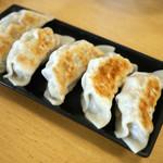 いちゃん - ビッグ餃子定食 ¥650