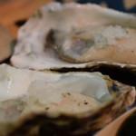 魚草 - 生牡蠣を塩で