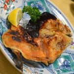 動坂食堂 - 鮭カブト焼(450円)2018年9月