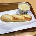 トゥルー スープ - 「スープセット」(950円)