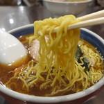 蓬来軒 - 麺が何と旨いこと!