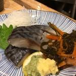 魚屋スタンドふじ - シメサバ