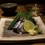さけ富 - 秋刀魚刺し