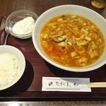 94486872 - ランチ:赤酢酸辣湯麺