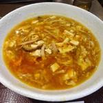 94486916 - ランチ:赤酢酸辣湯麺