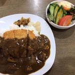 キッチン 新葉 - カツカレー(¥950)
