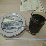 センリ軒 - ケーキ・アイスコーヒー