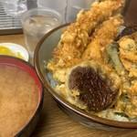 豊野丼 - 銀宝天丼