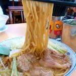 安福亭 - 安福亭 本店@長岡 叉焼麵 麺リフト