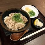 香川 一福 - 豚肉ぶっかけ/冷・小(730円)
