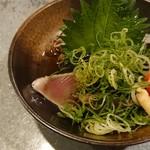 GYOぎょ魚 - カツオのタタキ