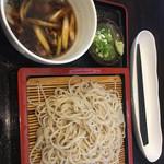 ほし乃 - 料理写真:肉せいろ蕎麦 970円
