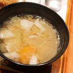あげ福 - 豚汁