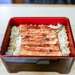 はし本 - 料理写真:■鰻重(上)3800円