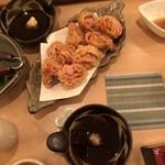 ゆるり家 - 豚肉キムチ天