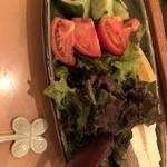 ゆるり家 - 特製サラダ