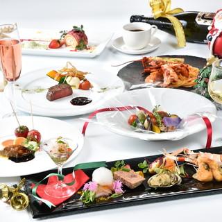 恋人たちの聖なる夜・・クリスマス特別ディナーご予約開始!