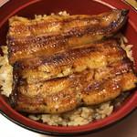 山崎屋 - うな丼:うなぎはふっくら、タレは絶妙